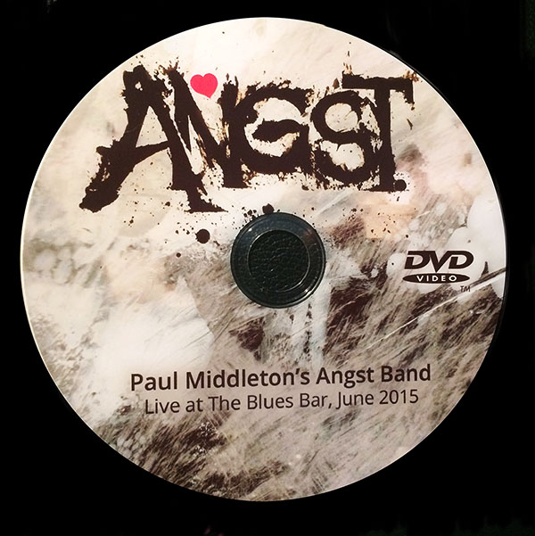 PAUL MIDDLETON DVD